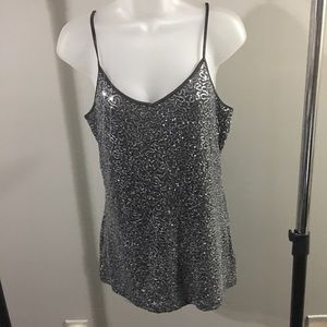 EXPRESS | tank top with sequins